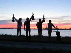fiddlers-at-sunset